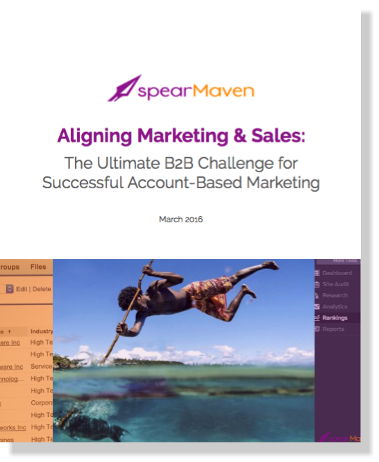 spearMaven Aligning Marketing and Sales White Paper
