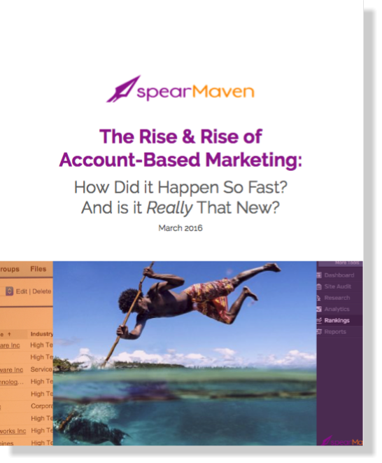 pearMaven The Rise and Rise of ABM White Paper